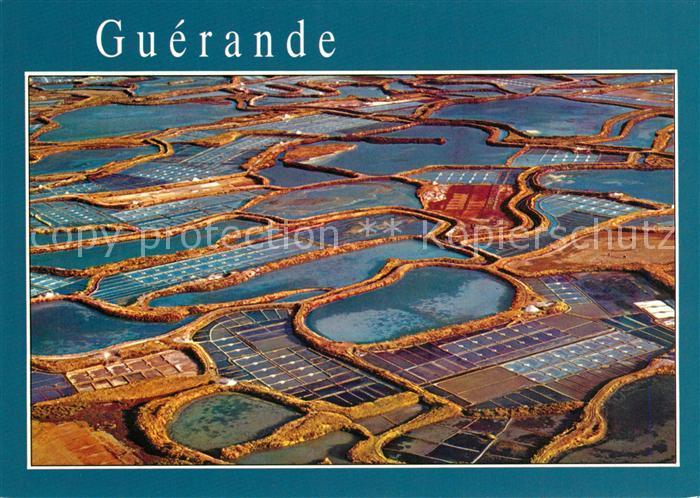 AK / Ansichtskarte Guerande Mosaique des marais salants Guerande