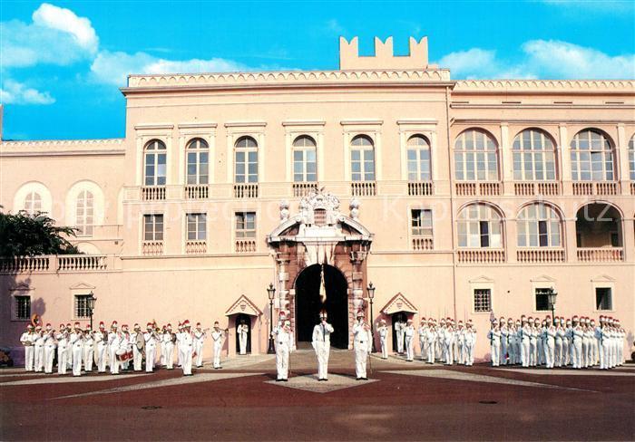 AK / Ansichtskarte Monaco Palais Compagnie de Carabiniers de S.A.S. le Prince de Monaco Tenue d ete Monaco
