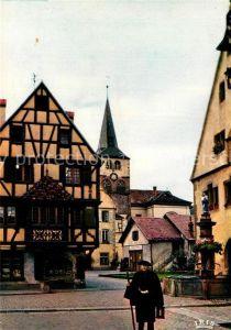 AK / Ansichtskarte Turckheim_Haut_Rhin Le veilieur de nuit conservant la tradition du Moyen Age Turckheim_Haut_Rhin