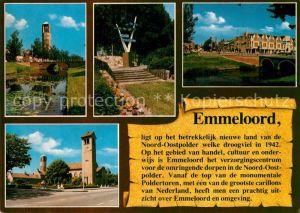 AK / Ansichtskarte Emmeloord Noord Oostpolder Monumentale Poldertoren Emmeloord