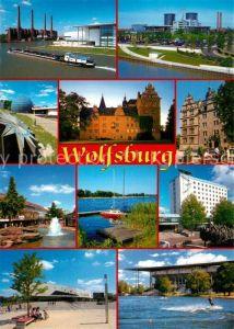 AK / Ansichtskarte Wolfsburg Die Volkswagenstadt Wolfsburg