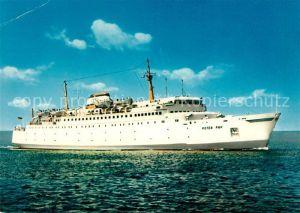 AK / Ansichtskarte Schiffe_Ships_Navires MS Peter Pan Travemuende Trelleborg Linie Schiffe_Ships_Navires