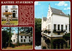 AK / Ansichtskarte Staverden Kasteel Schloss Staverden