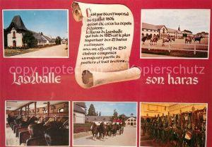 AK / Ansichtskarte Lamballe Vues diverses du Haras National Lamballe
