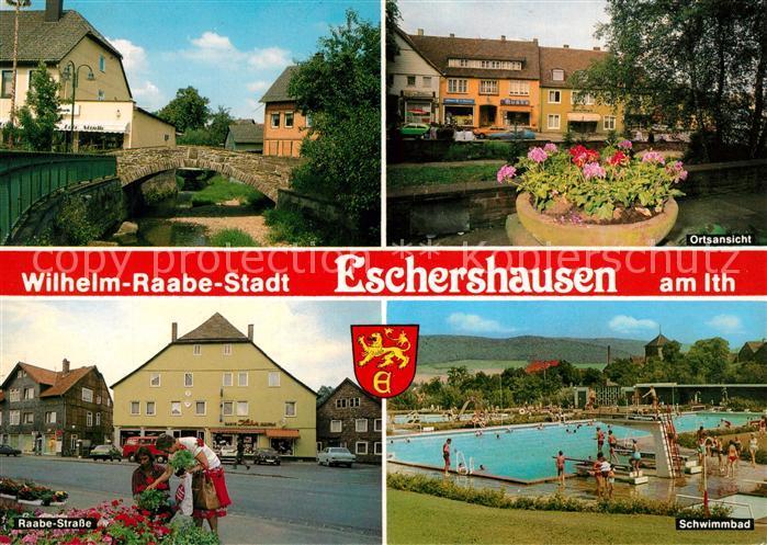 AK / Ansichtskarte Eschershausen_Holzminden Wilhelm Raabe ...