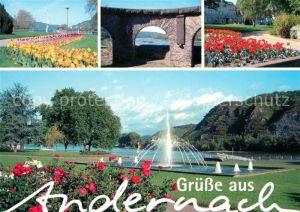 AK / Ansichtskarte Andernach Brunnen Parkanlagen Andernach