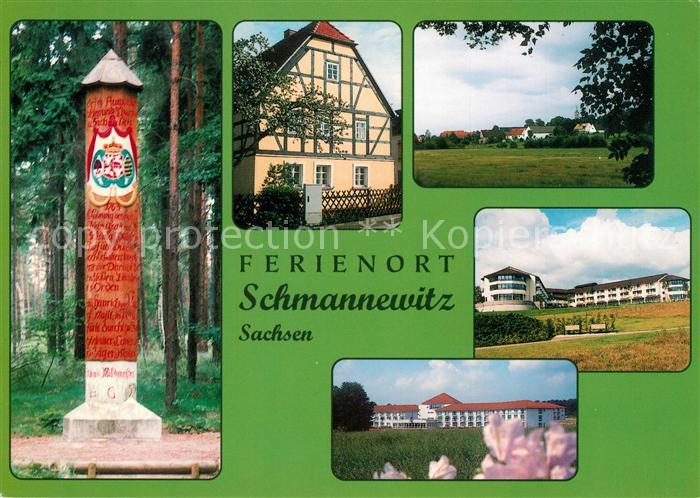 AK / Ansichtskarte Schmannewitz Baeuerliches Museum Kliniken Schmannewitz