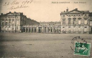 AK / Ansichtskarte Compiegne_Oise Facade Principale Compiegne Oise