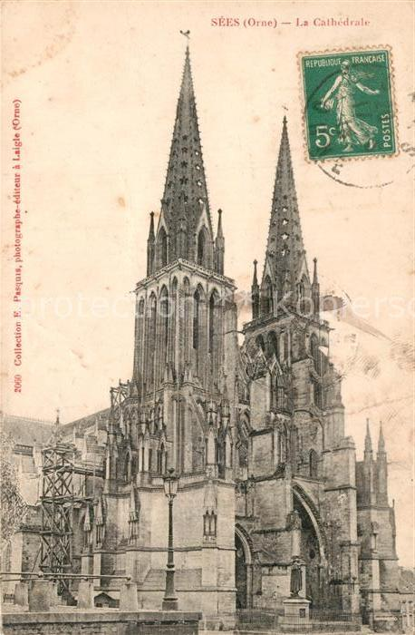 AK / Ansichtskarte Sees La Cathedrale Sees