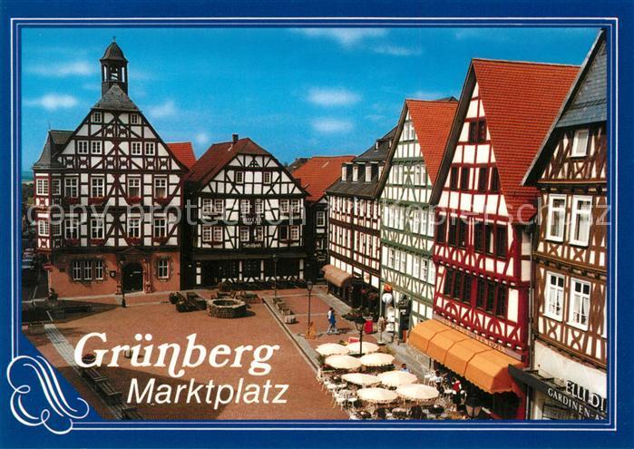 PLZ Grünberg (Hessen) - Hessen Postleitzahlen 35305 Gießen