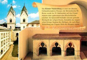 AK / Ansichtskarte Passau Kloster Niedernburg Klosterkirche Passau