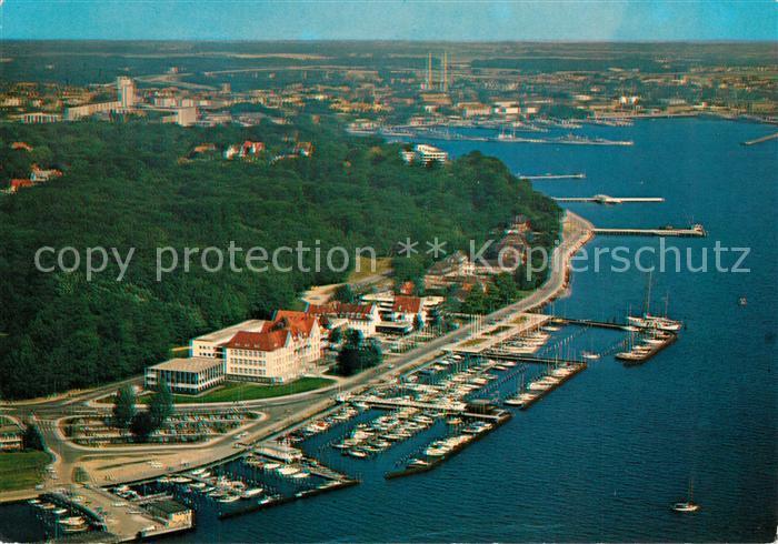 AK / Ansichtskarte Kiel Hindenburgufer Kieler Yacht Club Sporthafen Duesternbrook Kiel