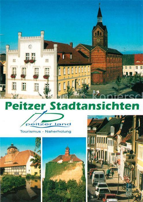 AK / Ansichtskarte Peitz Stadtansichten Peitz