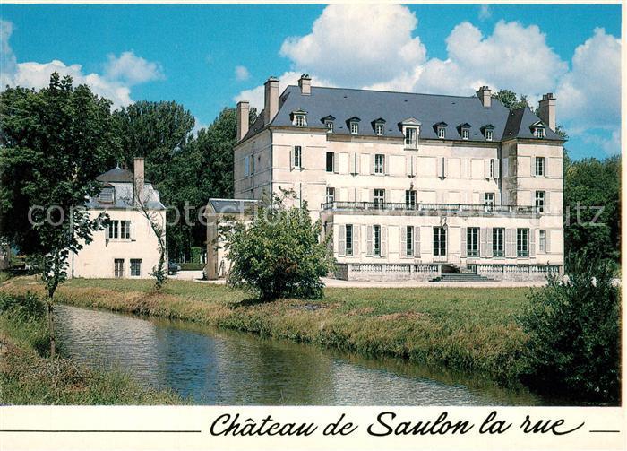 AK / Ansichtskarte Saulon la Rue Chateau Saulon la Rue