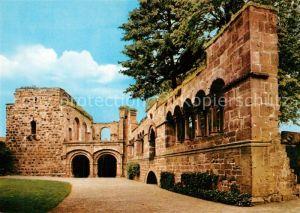 AK / Ansichtskarte Gelnhausen Kaiserpfalz Barbarossaburg Gelnhausen