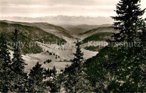 AK / Ansichtskarte Menzenschwand Panorama Menzenschwand