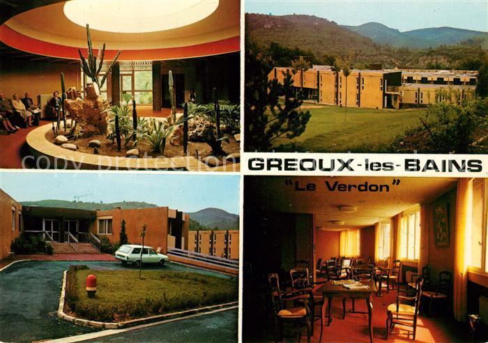 AK / Ansichtskarte Greoux les Bains Maison de repos Le Verdon Greoux les Bains