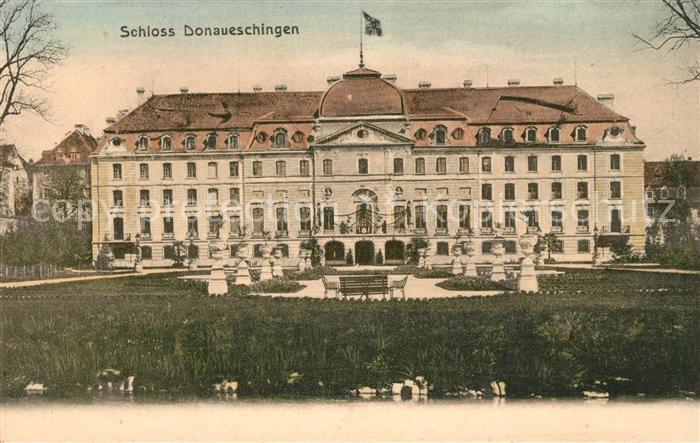 AK / Ansichtskarte Donaueschingen Schloss Donaueschingen