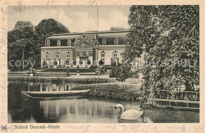 AK / Ansichtskarte Benrath Schloss Benrath am Rhein Benrath