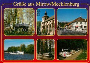 AK / Ansichtskarte Mirow Kirche See Mirow