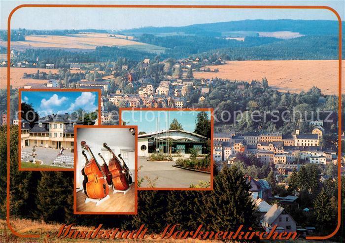 AK / Ansichtskarte Markneukirchen Musikinstrumentenmuseum Musikhalle Markneukirchen Markneukirchen