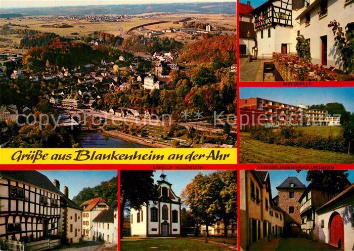 AK / Ansichtskarte Blankenheim_Ahr Panorama Stadtansichten  Blankenheim_Ahr