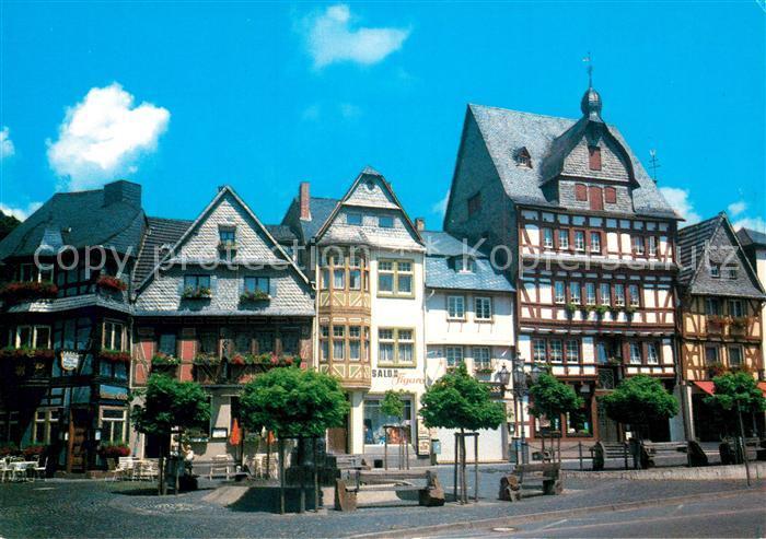 AK / Ansichtskarte Adenau Marktplatz Adenau