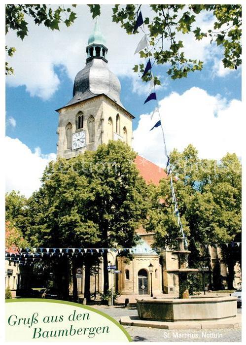 AK / Ansichtskarte Nottuln St. Martinus Nottuln
