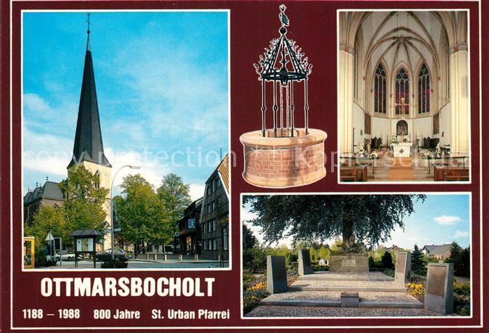 AK / Ansichtskarte Ottmarsbocholt St. Urban Pfarrei Ottmarsbocholt