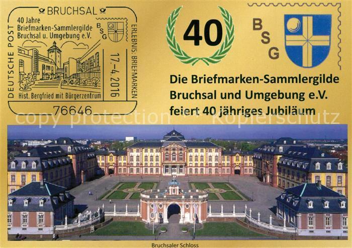 AK / Ansichtskarte Bruchsal Schloss Bruchsal