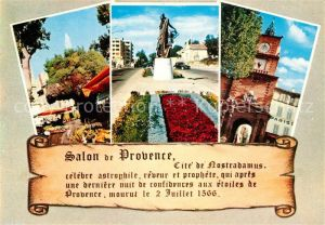 AK / Ansichtskarte Salon de Provence Cite de Nostradamus  Salon de Provence