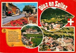 AK / Ansichtskarte Viuz en Sallaz Fliegeraufnahme Viuz en Sallaz