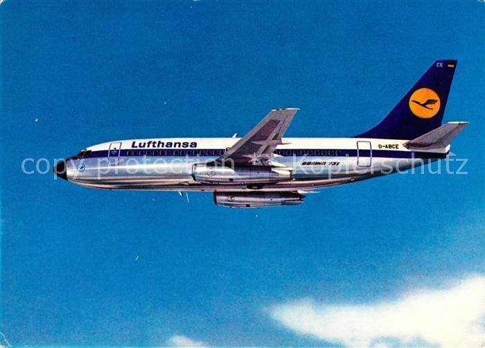 AK / Ansichtskarte Lufthansa Boeing 737 City Jet Lufthansa