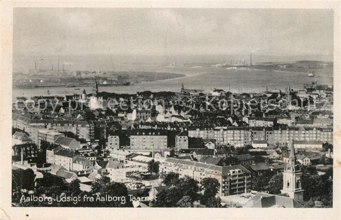 AK / Ansichtskarte Aalborg Udsigt fra Aalborg Taarnet Aalborg