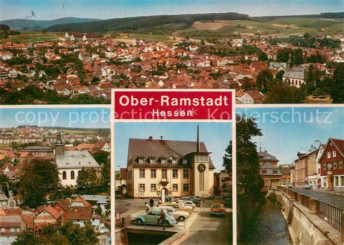 AK / Ansichtskarte Ober Ramstadt  Ober Ramstadt