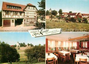 AK / Ansichtskarte Neunkirchen_Odenwald Gasthaus Zur Linde Neunkirchen Odenwald