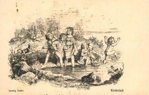 AK / Ansichtskarte Richter_Ludwig Kinderlust Verlag Wiechmann  Richter Ludwig
