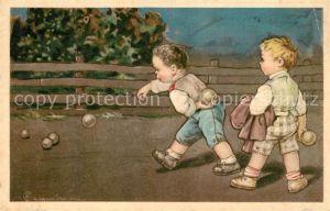 AK / Ansichtskarte Sport Boule Spiel Kinder  Sport