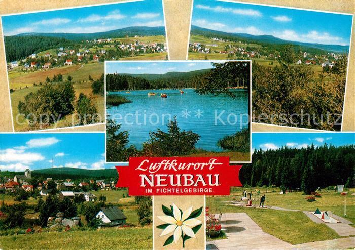 AK / Ansichtskarte Neubau_Fichtelberg Panorama Minigolfplatz Neubau Fichtelberg