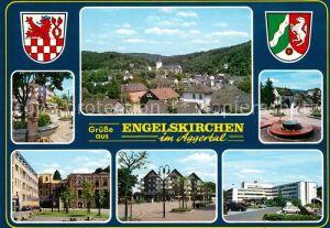 AK / Ansichtskarte Engelskirchen Panorama Brunnen Stadtansichten Engelskirchen