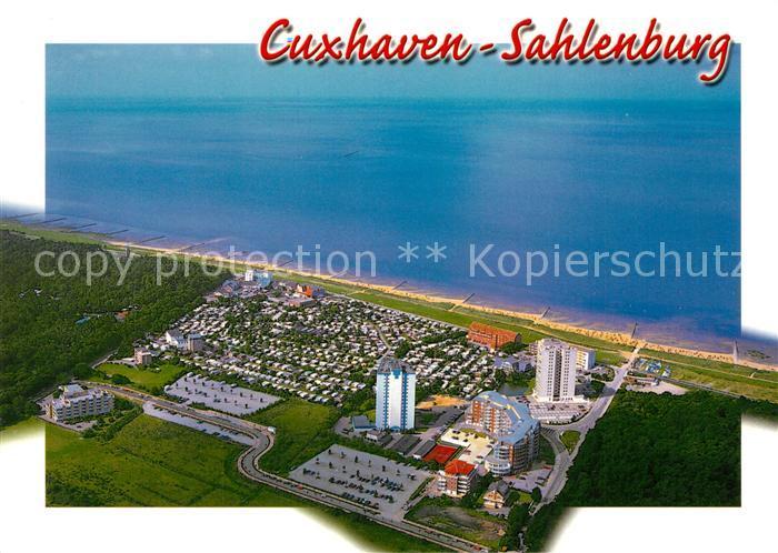 AK / Ansichtskarte Sahlenburg Fliegeraufnahme Sahlenburg