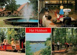 AK / Ansichtskarte Oldenzaal Bar Restaurant Bowlingcentrum Het Hulsbeek Minigolf Kinderbahn Landschaftspanorama Oldenzaal