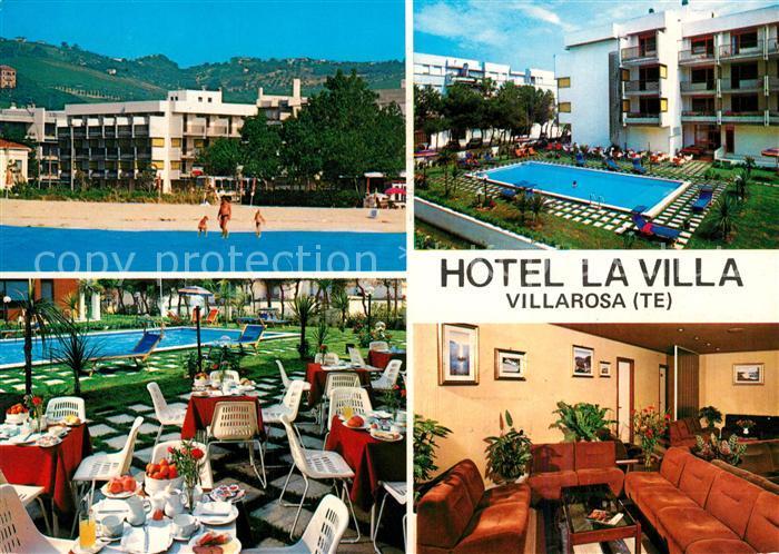 AK / Ansichtskarte Villarosa Hotel La Villa Strand Pool Villarosa