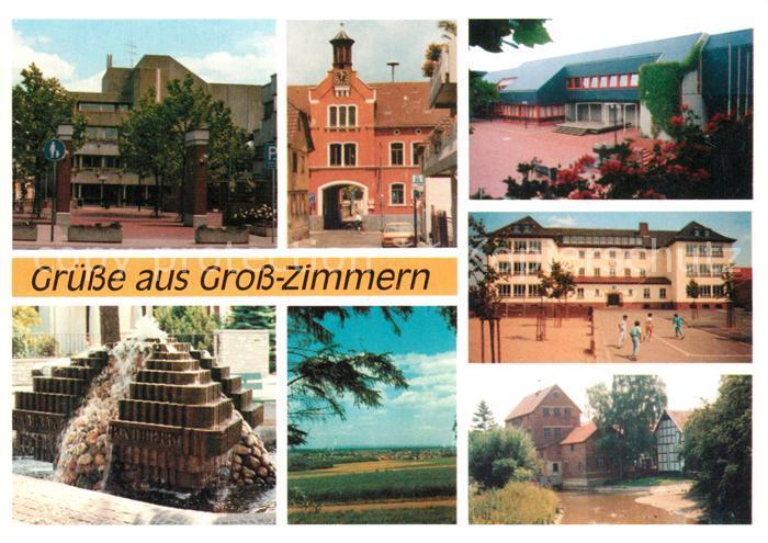 AK / Ansichtskarte Gross Zimmern  Gross Zimmern