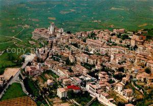 AK / Ansichtskarte Assisi_Umbria Panorama dall aereo lato Ouest Cittadella Assisi Umbria