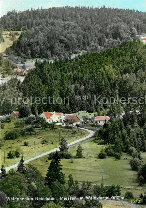 AK / Ansichtskarte Maissen_Moorbad_Harbach Panorama Waldpension Nebelstein