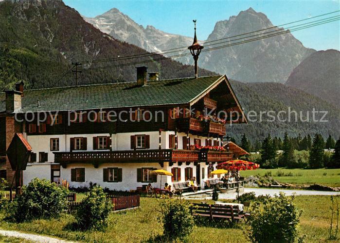 AK / Ansichtskarte St_Ulrich_Pillersee Pension Adler Alpen St_Ulrich_Pillersee