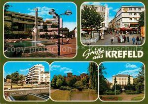 AK / Ansichtskarte Krefeld Stadtansichten  Krefeld