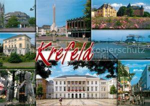AK / Ansichtskarte Krefeld Stadtansichten Rathaus  Krefeld
