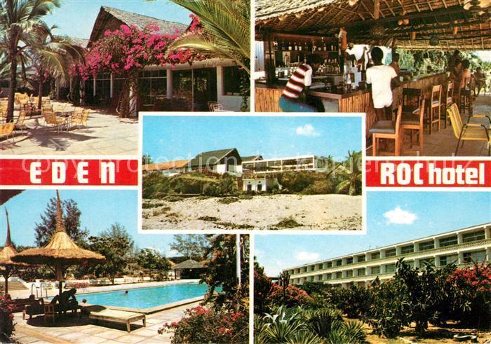AK / Ansichtskarte Malindi Eden Roc Hotel Bar Swimmingpool Malindi